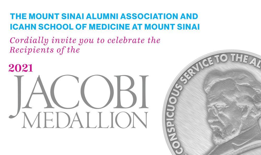 Ana Fernández-Sesma, reconocida con el Jacobi Medallion 2021 del Ichan Mount Sinai