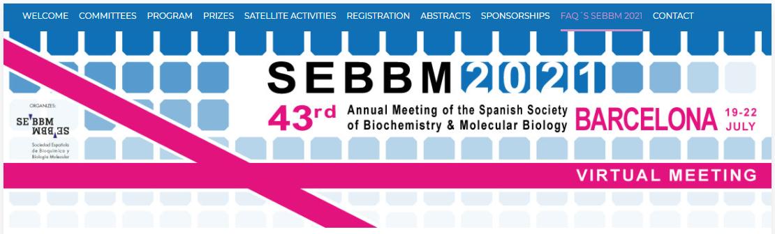 43 Congreso de la SEBBM