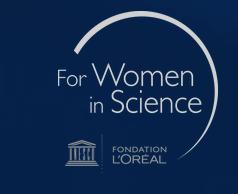 Premios a la investigación For Women In Science 2021